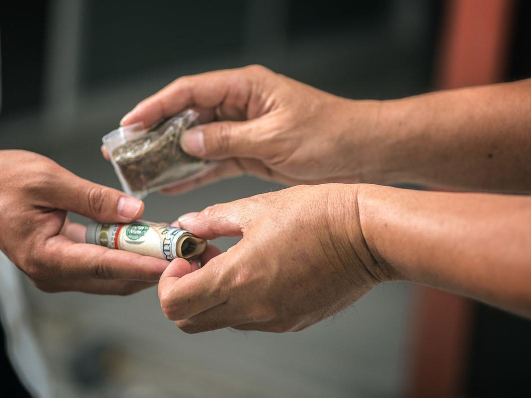 Drug possession cases range in severity